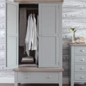 Valencia Bedroom - Grey & Wood