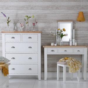 Valencia Bedroom - White & Wood
